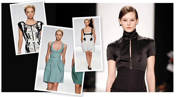 Algunos diseños de Narciso Rodríguez (fuente: eBay)