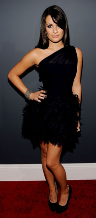 Lea Michelle - Grammy 2010