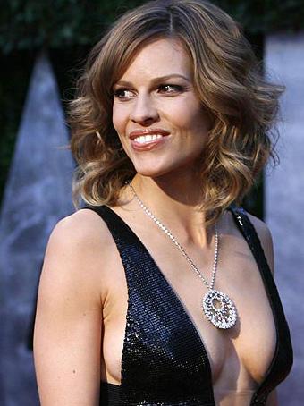 Oscars 2010 - Hillary Swank