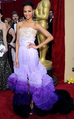 Oscars 2010 - Zoe Saldana