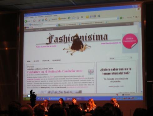 Jornadas de Blogs de Moda - Ariadna Ferret Fashionisima.es