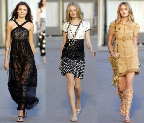 Chanel Colección Crucero 2011 - Desfile
