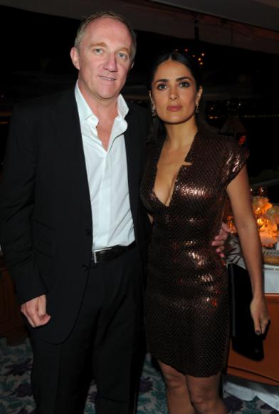 Cannes - Fiesta en honor a Scorsese - Salma Hayek y marido :P