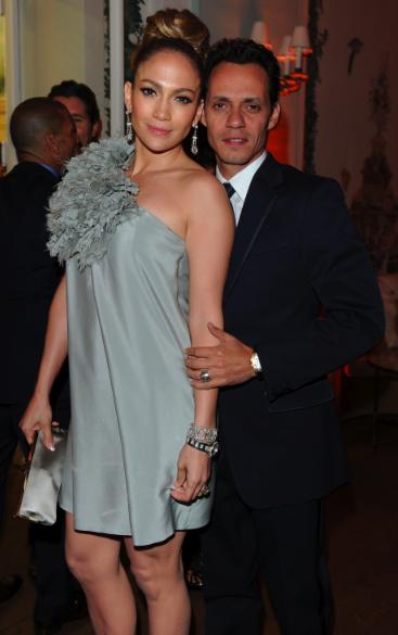 Cannes - Fiesta en honor a Scorsese - Jennifer Lopez y Marc Anthony