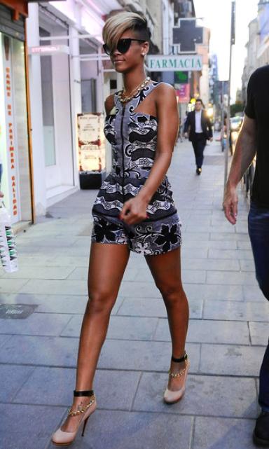 Rihanna en Madrid