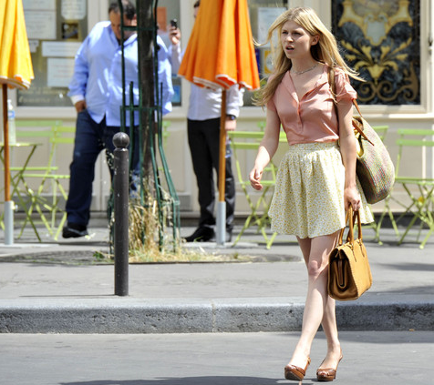 Rodaje Gossip Girl - Paris