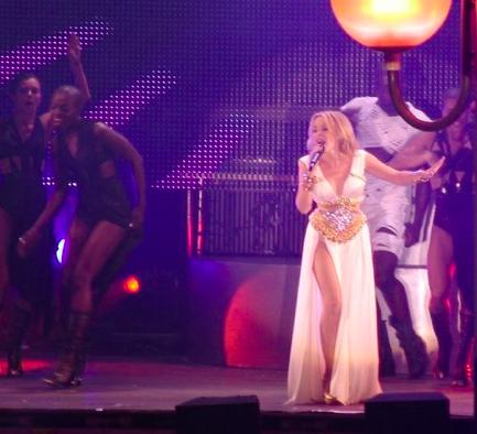 Kylie Minogue diosa del orgullo gay en Madrid