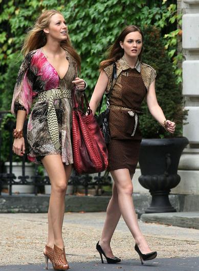 Rodaje de Gossip Girl - Nueva York