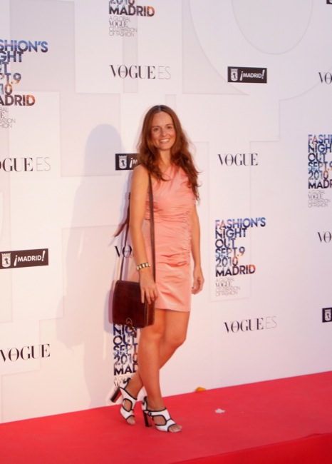 Fashion Night Out Madrid - Ana Locking