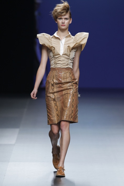 Cibeles Madrid Fashion Week - Antonio Alvarado Primavera Verano 2011