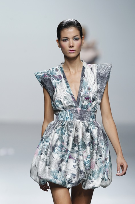 Cibeles Madrid Fashion Week - Miriam Ocariz Primavera 2011