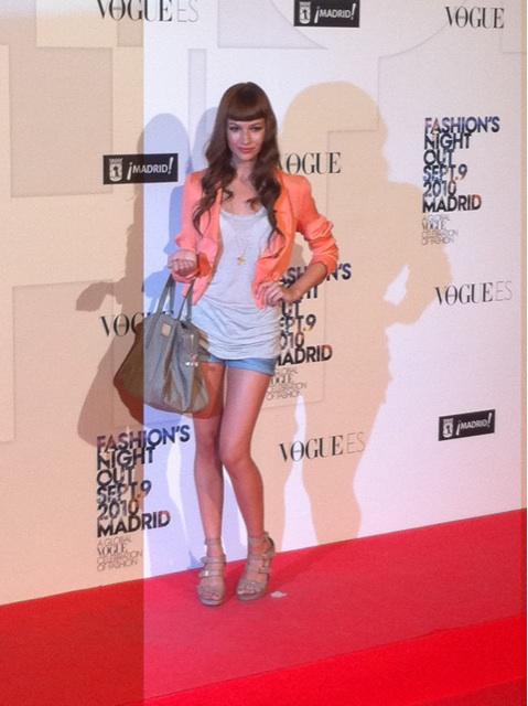 Vogue Fashion's NIght Out Madrid - �?rsula Coberó