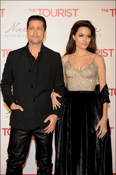 Estreno de El Turista en Madrid: Angelina Jolie, Brad Pitt y Johnny Depp