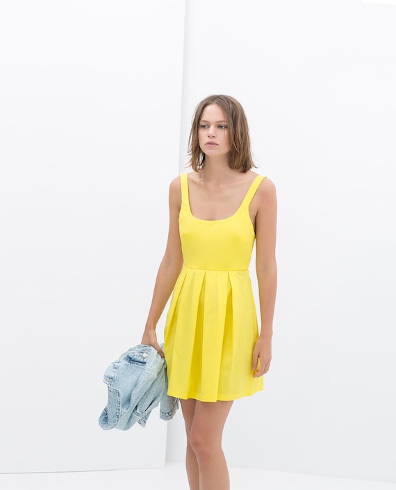 14d64a6ac Zara - Vestidos primavera - mi red carpet · slow lifestyle magazine