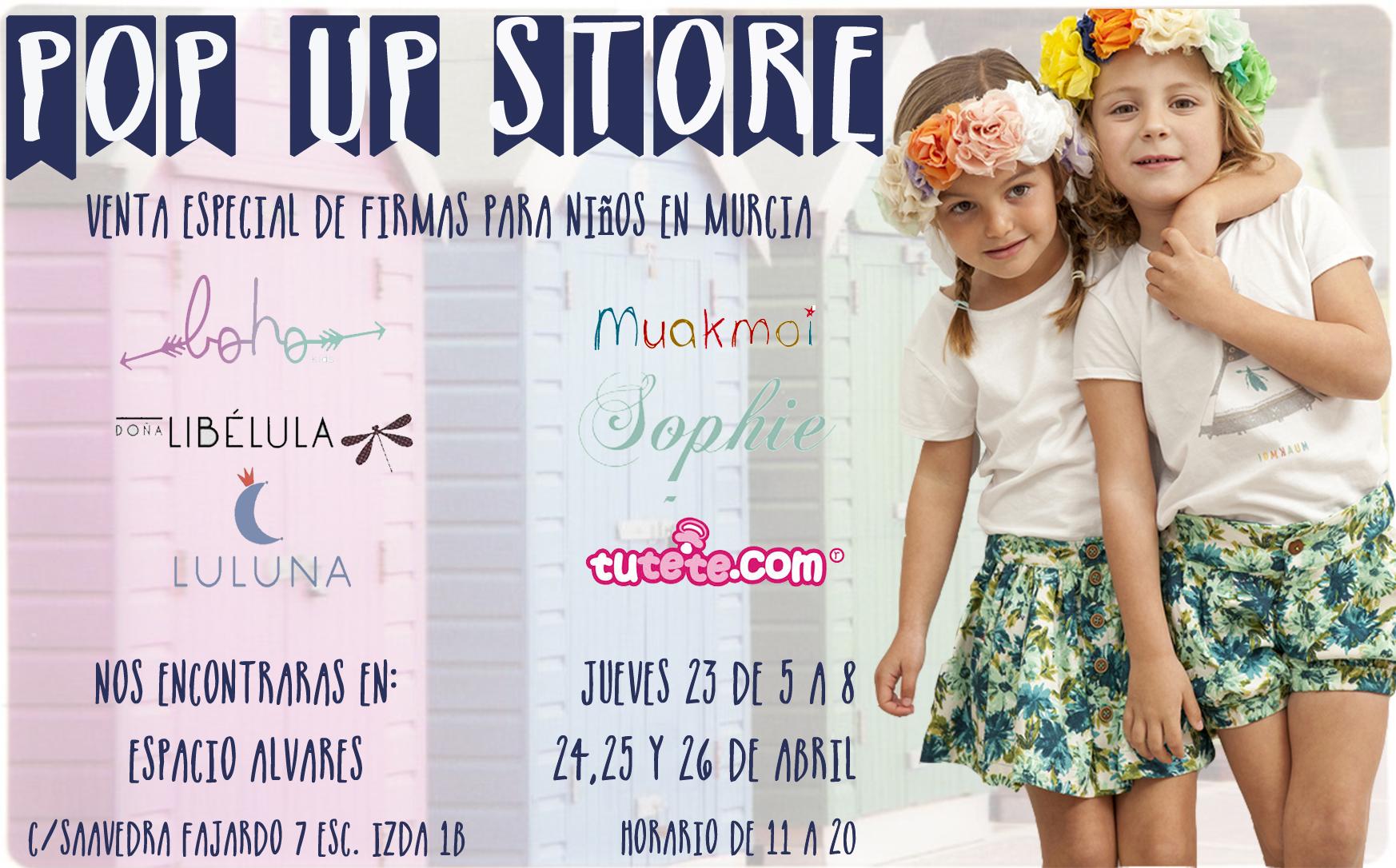 Pop Up Store Niños - Murcia