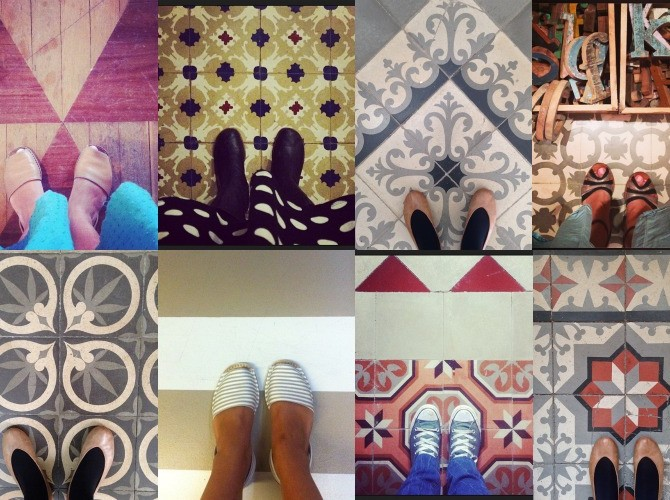 Collage suelos bonitos