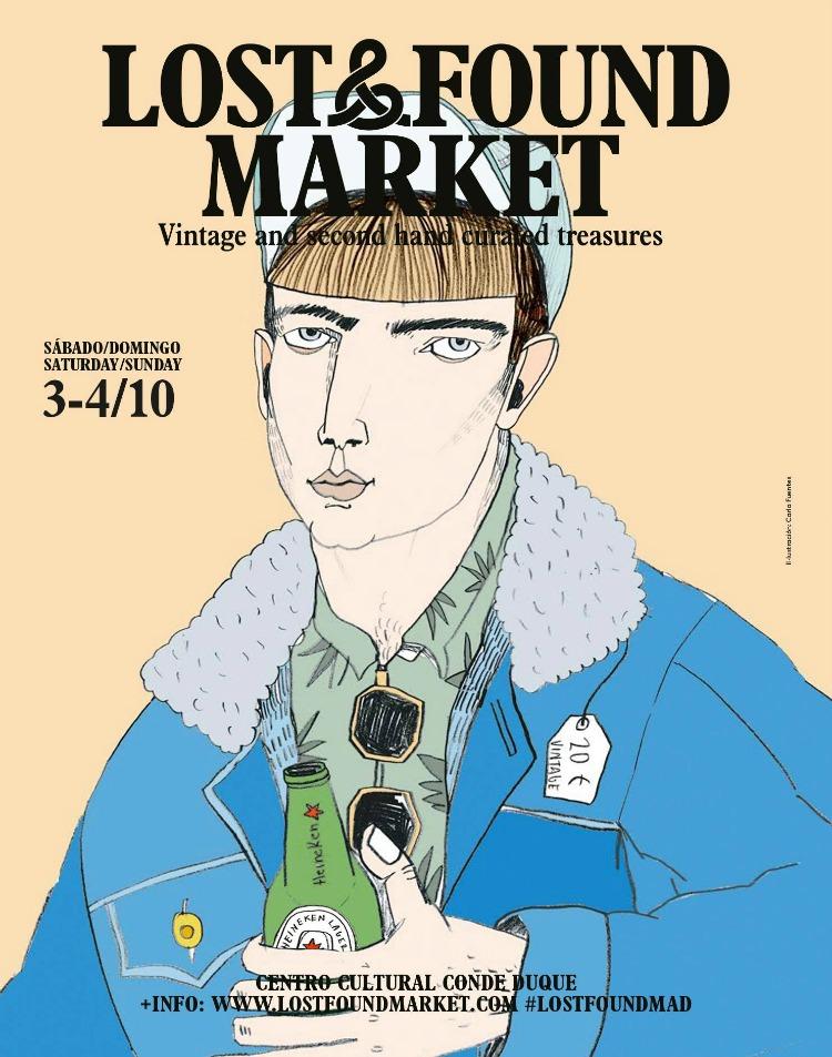 lost and found market madrid octubre