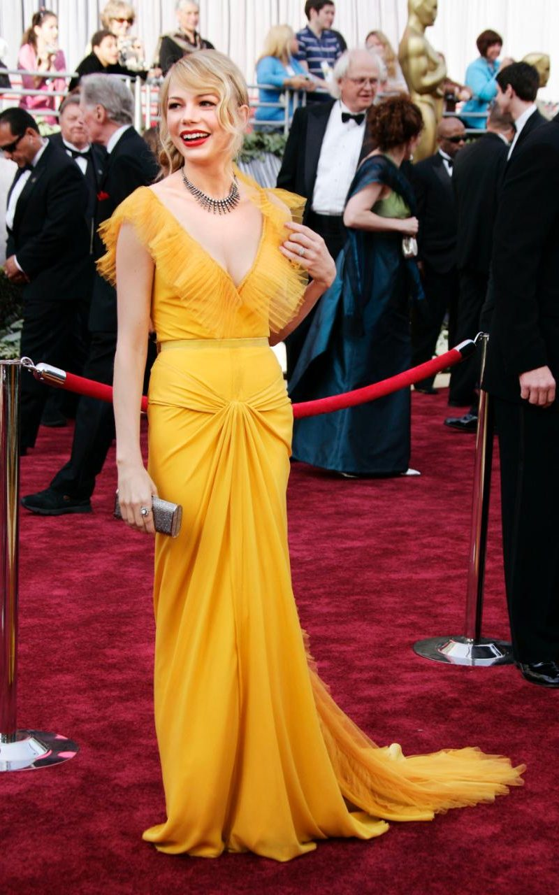 Vestido Michelle Williams Oscars 2006