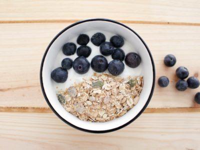 recetas desayuno arandanos