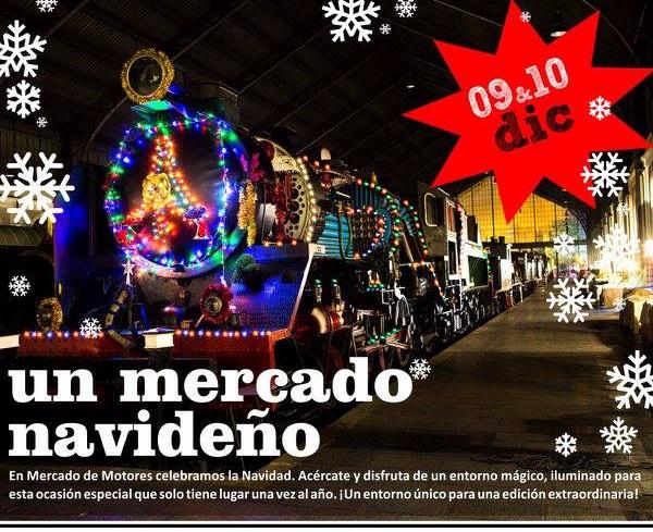 Mercados de Navidad Madrid Mercado de Motores