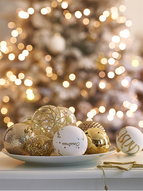Decoración de Navidad - Metalizados