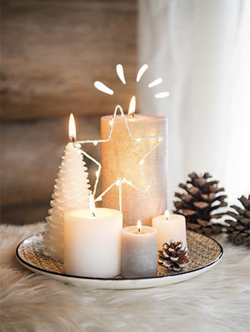 Decoración de Navidad - Rústica