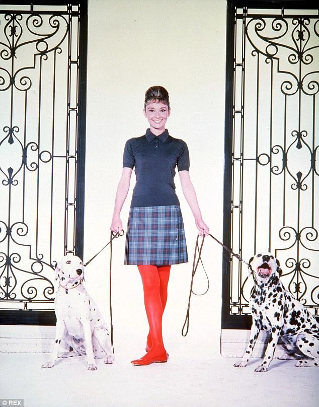 Audrey Hepburn tartan