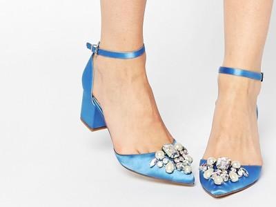 zapatos azules asos