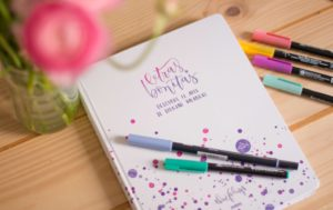 aprender caligrafia libro three feelings letras bonitas