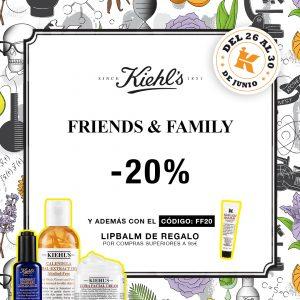 Kiehl's Friends & Family 2020