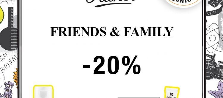 Kiehl's Friends & Family 2020