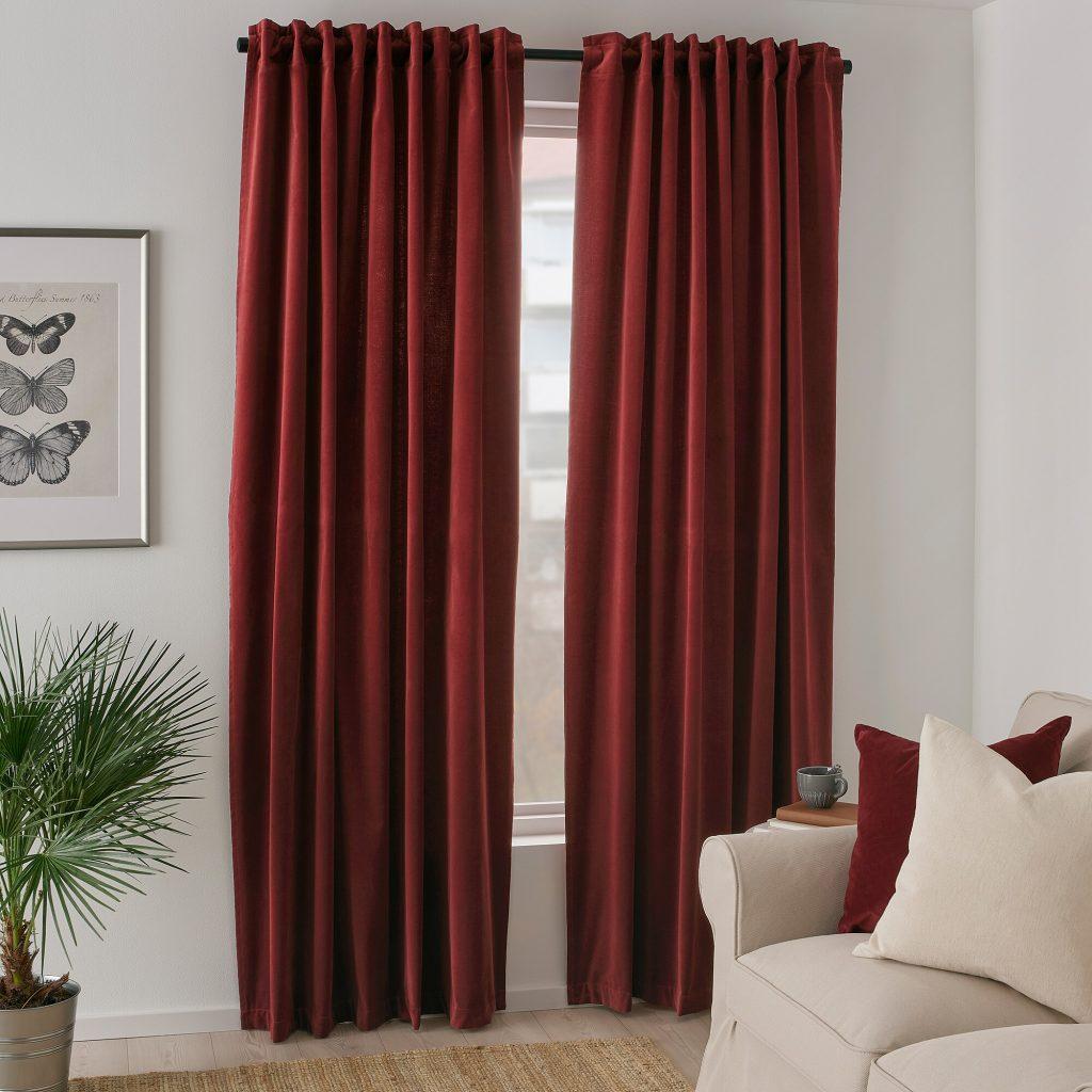 cortinas de terciopelo ikea