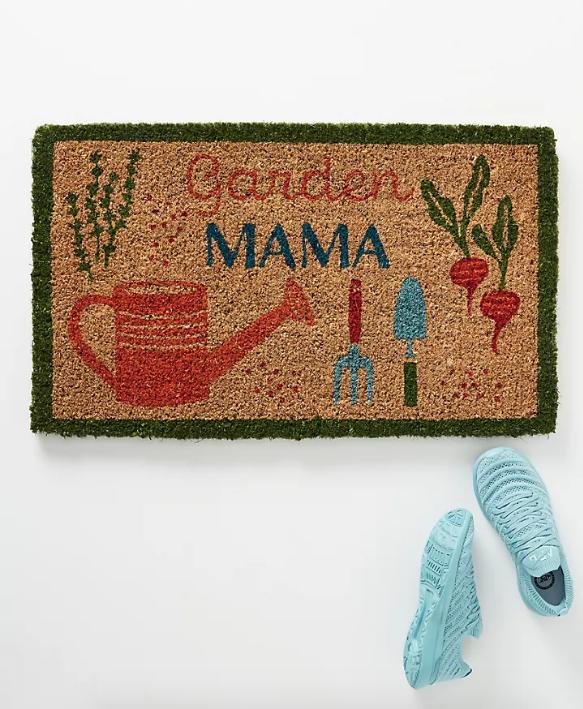 felpudos bonitos de anthropologie - garden mama