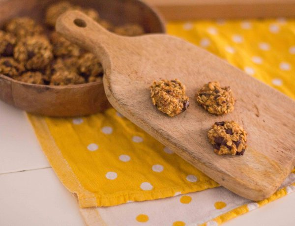 galletas de avena y plátano receta fácil-1